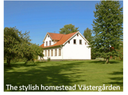 The stylish Västergården